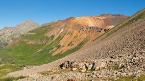 Colorful Mountains in the San Juan Range Stock Image