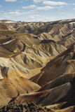 Colorful mountains in southern Iceland. Landmannalaugar Stock Photography