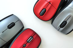 Colorful mouses Royalty Free Stock Photos