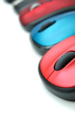 Colorful mouses Royalty Free Stock Photography