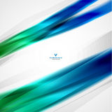 Colorful moving abstract lines modern template Royalty Free Stock Photo