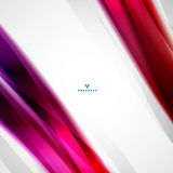 Colorful moving abstract lines modern template Stock Photo