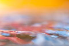 Colorful moving liquid abstract Royalty Free Stock Photos