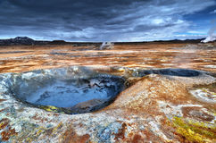 Volcanism in Iceland Royalty Free Stock Photos