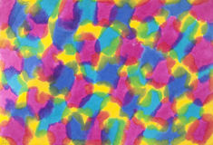 Colorful Mulberry paper Royalty Free Stock Photography