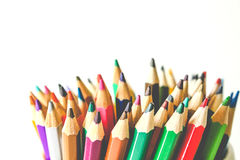 Colorful Multi-Color Of Pencil Stock Photography
