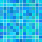 Colorful multi color seamless square tiles Stock Images