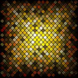 Colorful multi color square tiles Royalty Free Stock Photos