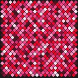 Colorful multi color square tiles. Colorful multi color seamless square tiles Royalty Free Stock Images