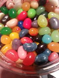 Colorful. Multicolored jelly beans royalty free stock images