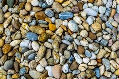 Colorful multicolored pebbles Stock Photo