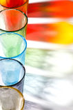 Colorful murano glasses Stock Images