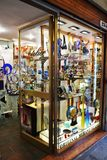Colorful murano shop, in Venice, Italy Royalty Free Stock Photography