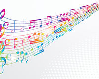 Free Colorful Music Background. Stock Images - 21534914