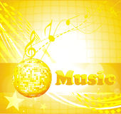 Colorful music background. Party/ music/ background for music event design Royalty Free Stock Photo