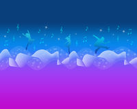 Colorful Music and Dance Backround Royalty Free Stock Images