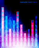 Colorful Music Equalizer Background Royalty Free Stock Photography