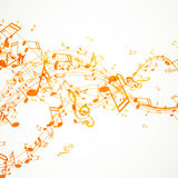 Colorful Music notes Royalty Free Stock Photography
