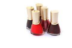 Nail polishes Stock Photo