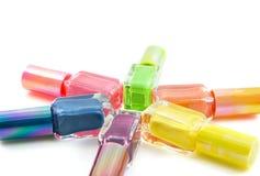 Colorful nailpolish Royalty Free Stock Image