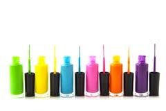 Colorful nailpolish Royalty Free Stock Photo