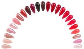 Colorful nails Royalty Free Stock Photos
