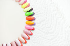 Colorful nails Royalty Free Stock Photos