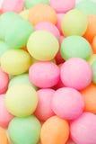 Colorful naphthalene balls Royalty Free Stock Image