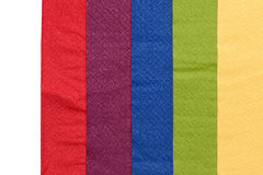 Colorful napkin paper background Stock Photography