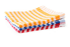 Colorful napkins Royalty Free Stock Images