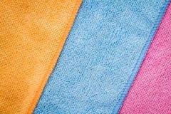 Colorful Napkins Royalty Free Stock Image