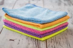 Colorful Napkins Royalty Free Stock Image