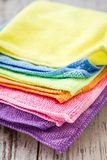 Colorful Napkins Stock Photography