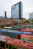 Colorful narrow boat Stock Photography