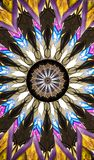 Colorful Native American Look Tapestry Kaleidoscope vector illustration