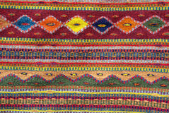 Colorful Native American Rug Royalty Free Stock Photo
