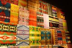 Colorful Native American textiles Stock Photos