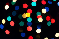 Colorful natural bokeh texture Stock Photo