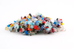 Colorful natural crystal stones Royalty Free Stock Images