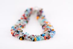 Colorful natural crystal stones Stock Photos