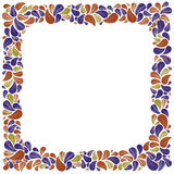 Colorful natural decorative framing with leaves, best for greeti Stock Images