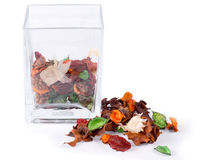 Colorful natural pot pourri Royalty Free Stock Image