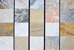 Colorful natural stone pattern Stock Image
