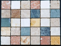 Colorful natural stone pattern Stock Photo