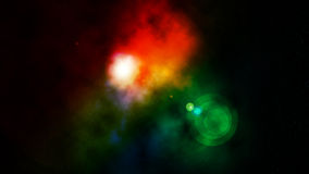 Colorful Nebula Stock Image