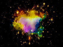 Colorful Nebula Stock Images
