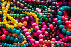 Colorful necklace pil Royalty Free Stock Photo