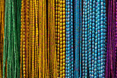 Colorful necklaces II royalty free stock image