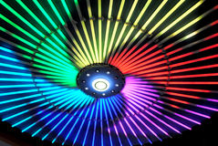 Colorful neon light Stock Image