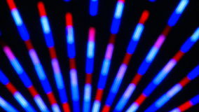 Colorful Neon Lights Clip 16 of 15 stock footage
